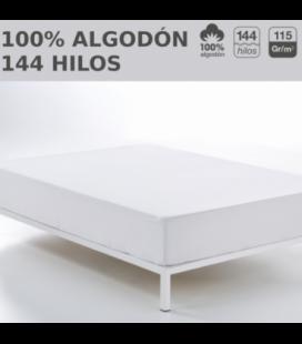Pack de 10 bajeras ajustables LISOS HOSTELERIA.100% algodón. Es-Tela