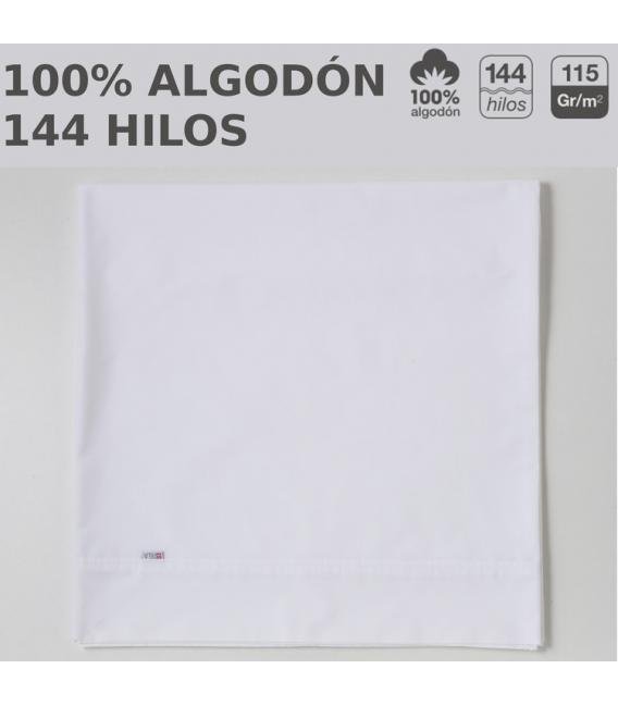 Pack de 10 sábanas encimeras LISOS HOSTELERIA. 100% algodón. Es-Tela
