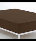 Bajera ajustable COMBI LISOS. 100% algodón (200 hilos) 179-CHOCOLATE