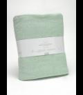 Manta de algodón reciclado Lares 316-AQUA