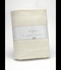 Manta de algodón reciclado Lares 021-CREMA