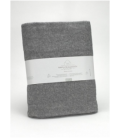 Manta de algodón reciclado Lares 016-GRIS