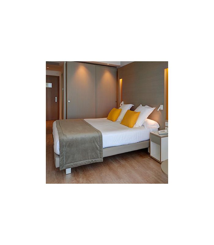 Juegos de s banas de algod n para hoteles - Ropa de cama para hosteleria ...