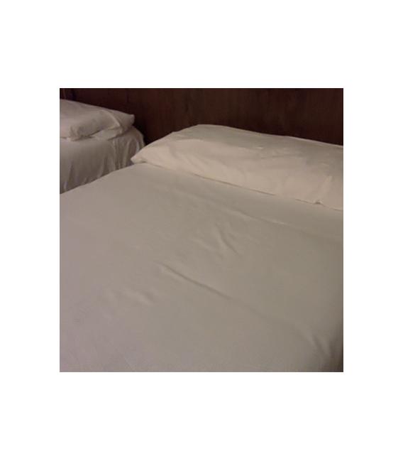 Pack de 10 Fundas almohadas Algodón 100% hostelería
