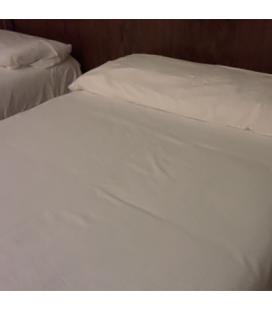 Fundas almohadas Algodón 100% hostelería Pack 5 Unidades