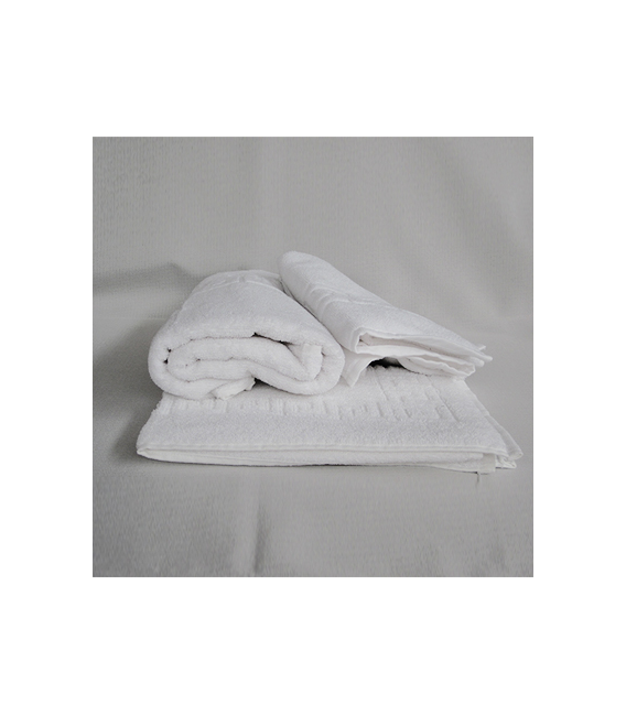 Toallas blancas hosteleria 80/20