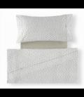 Juego de sábanas estampadas Dalma 138-PIEDRA