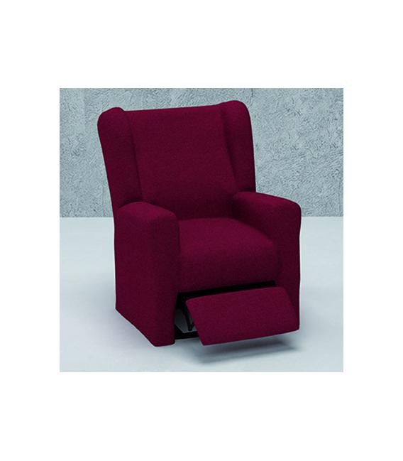 Funda bielástica sillón relax orejero mod.- NATURE