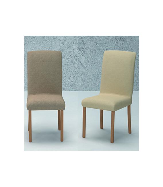 Funda bielástica silla con respaldo mod.- NATURE