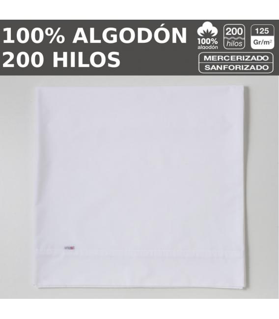 PACK 10 ENCIMERAS LISO 200H HOSTELERIA 100% ALGODON