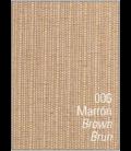 Mantel antimanchas RÚSTICO LISO. Es-Tela 006-MARRON