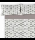Juego sábanas estampadas EMMA. Es-Tela 225-PLOMO